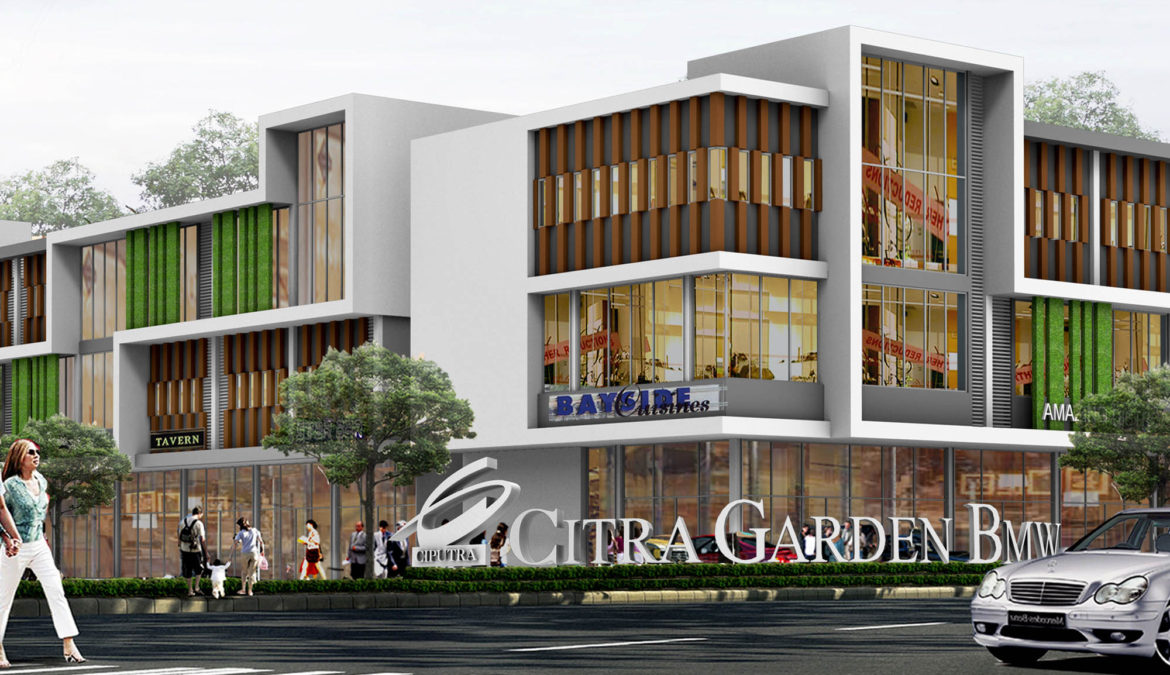 Citra Gateway, Ruko Dua Lantai yang Langsung Jadi Primadona Baru di CitraGarden BMW