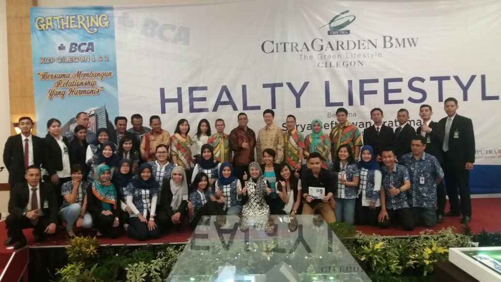 Healthy Lifestyle With BCA