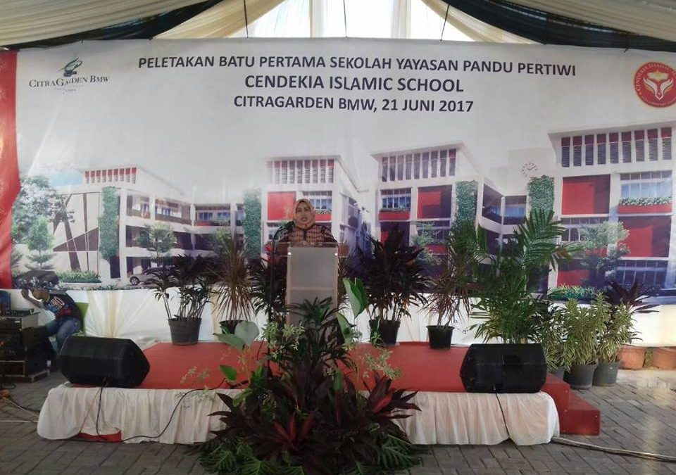 Peresmian Masjid Raya dan Peletakkan Batu Pertama Yayasan Cendikia Islamic School