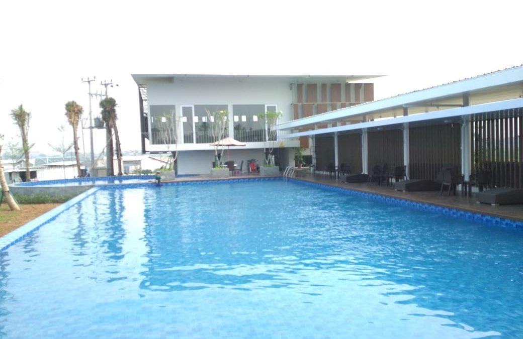 Club House Breeze Water Siap Beroperasi